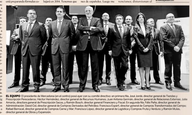 «Los hombres de Juan Roig» en #másqueunafoto