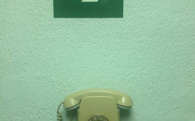 Un teléfono que nunca sonará en #másqueunafoto