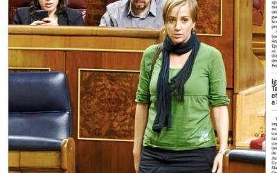 Cómo se mira a una ex pareja en el Congreso #másqueunafoto